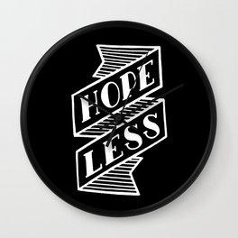 Hopeless #2 Wall Clock