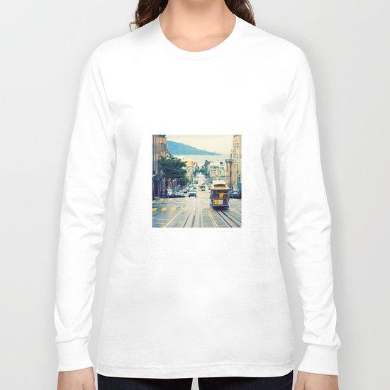 San Francisco Cable Car Long Sleeve T-shirt
