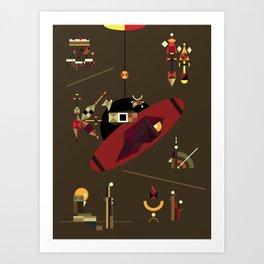 a2112 Art Print