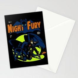 Night Fury Comic Stationery Cards
