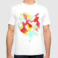 Things MEDIUM Mens Fitted Tee White