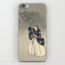 1920s Japanese Art iPhone Skin