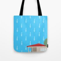 philosophy Tote Bags featuring Farouk's Philosophy by Kirifruit