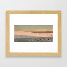 Shades of Dune Framed Art Print