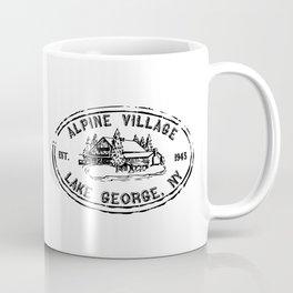 Vintage Alpine Village Logo Coffee Mug