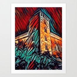 Castello Art Print