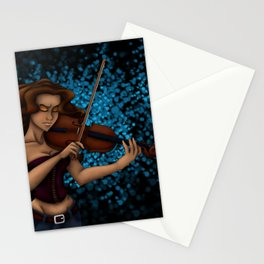 Passionate Music Stationery Cards