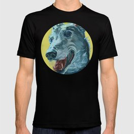 Dilly the Greyhound Portrait T-shirt