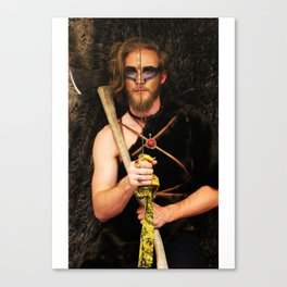 Listen to Slayer Canvas Print
