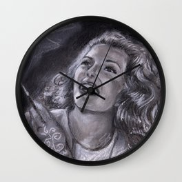 hollywood legends 3 Wall Clock
