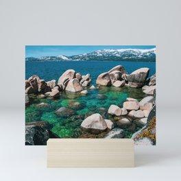 Lake Tahoe in Winter. USA Mini Art Print