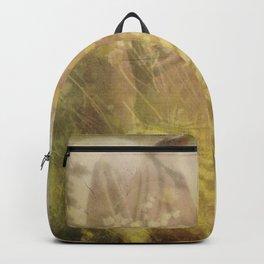 Vintage woman Backpack