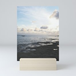 sunset in Maceió - brazil Mini Art Print