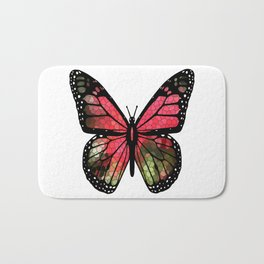 Butterfly Mosaic Badematte