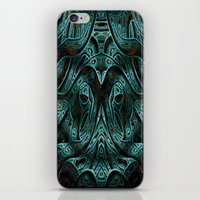 viking iPhone & iPod Skins featuring Viking by RingWaveArt
