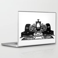 formula 1 Laptop & iPad Skins featuring Formula 1 car by Cosy Walnut