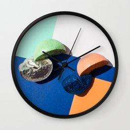 Citrus Quadrants Wall Clock