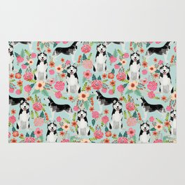 Husky dog breed must have gifts for dog person husky owner presents Rug