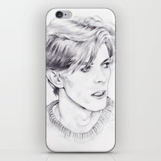 David Bowie - Ziggy Stardust - The Man Who Fell To Earth - Thin White Duke iPhone Skin
