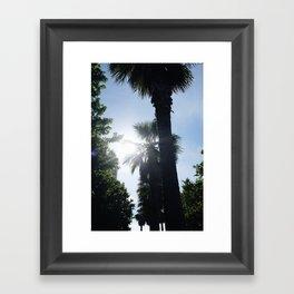Palm Obsession Framed Art Print