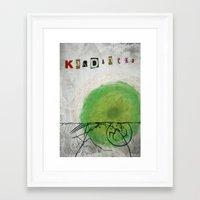 kandinsky Framed Art Prints featuring kandinsky inspired art by Easyposters
