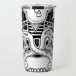 Oven Mitt Machine II (The Illusion vs The Master) Travel Mug