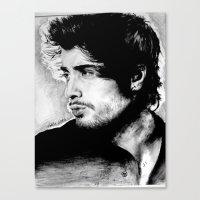 zayn malik Canvas Prints featuring Zayn Malik by Adele_F