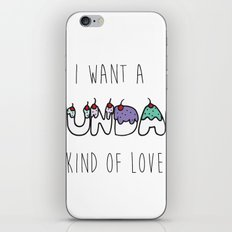 Sundae Kind Of Love iPhone & iPod Skin