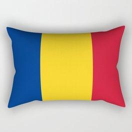 flag of romania Rectangular Pillow