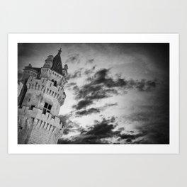 Olite castle (spain) Art Print