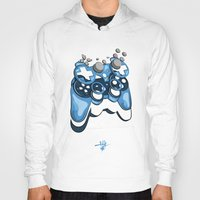 gamer Hoodies featuring Gamer by Hey Yet