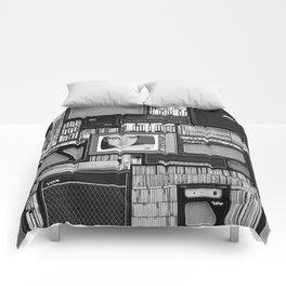Vintage music Comforters