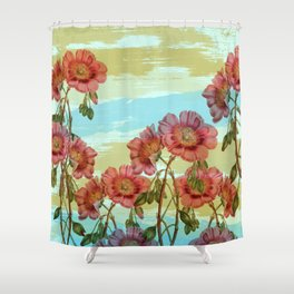 Incident with Flower #society6 #buyart #decor Shower Curtain