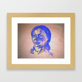 Gentle Persausion Framed Art Print