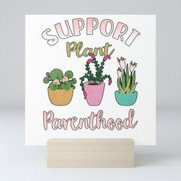 Flower Gardener Plant Lover Houseplant Mini Art Print