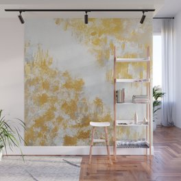 Silver & Gold Wall Mural