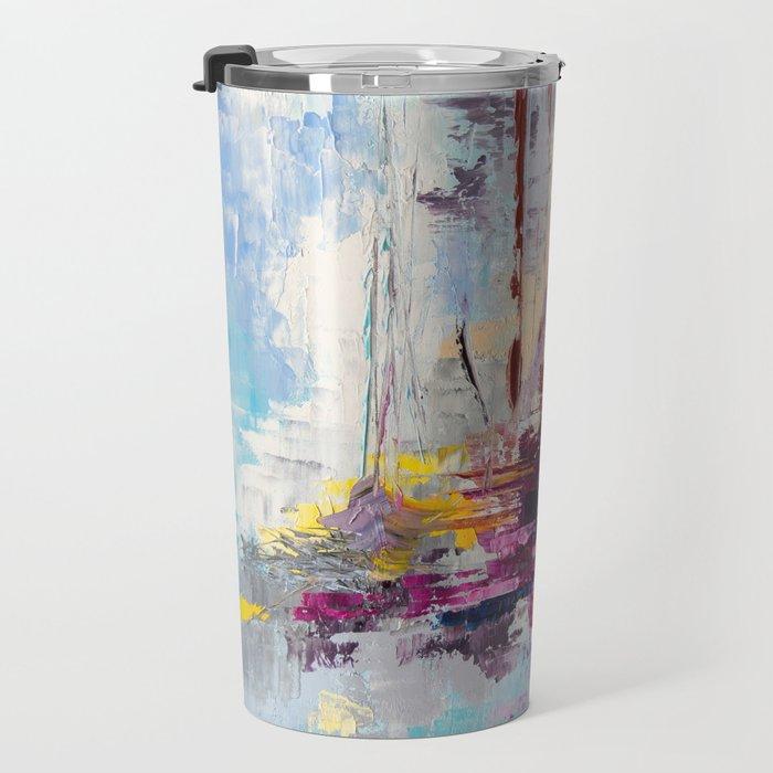 Illusive boats Travel Mug