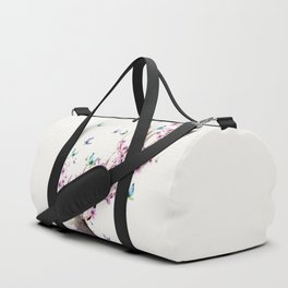 Deer and Flowers II Duffle Bag