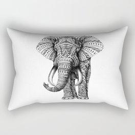 Ornate Elephant Rectangular Pillow