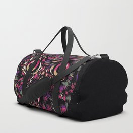Colored Owl Duffle Bag