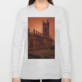 WW2 Bombed out Church Long Sleeve T-shirt