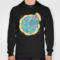 Blue Pizza Hoody