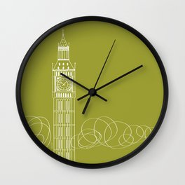 London by Friztin Wall Clock