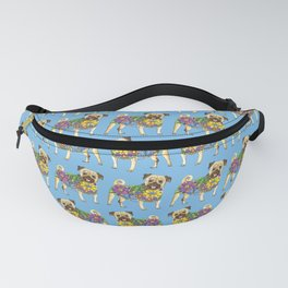 The Pugster (Blue) Fanny Pack