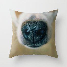 Dog face Throw Pillow