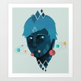 Mind/Space Art Print