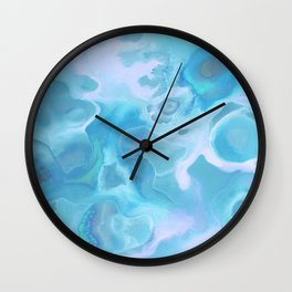 Lavender's Blue Wall Clock