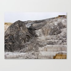 The Steps at Yellowstone Canvas Print