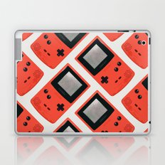 Gameboy Color: Red (Pattern) Laptop & iPad Skin