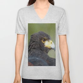 Harris Hawk  Unisex V-Neck